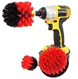 Iuhan Pcs Power Scrubber Drill Brush Attach T Set Cleaning All Purpose Drill