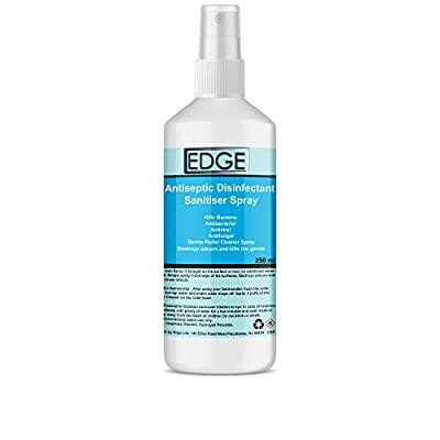 Antiseptic Disinfectant Sanitiser Spray For Cleaning Beauty Salon Equipment, Manicure Pedicure Equipment Tools, Derma Roller Cleaner Spray, Kills and Protects Against Germs, Bacteria, Natural & Synthetic Make Up Brushes Kills Bacteria, Antibacterial, Anti