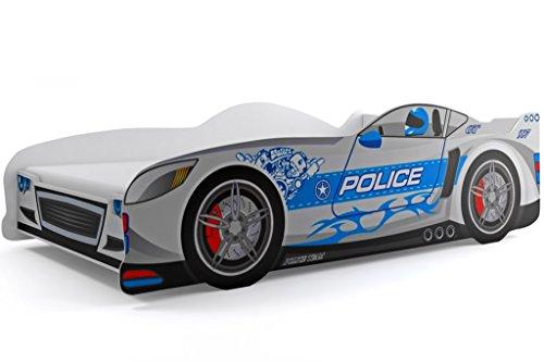 Interbeds Los niños Cama Infantil Racing Cars-Juego de Cama con colchón