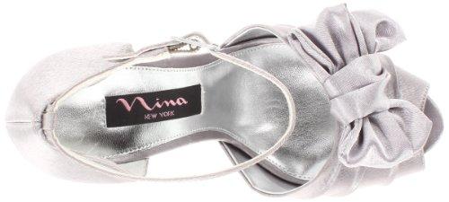 Nina Bridal  Electra Fushsia Special Occasion Neob ELECTRA01, Sandales femme Argent-V.3
