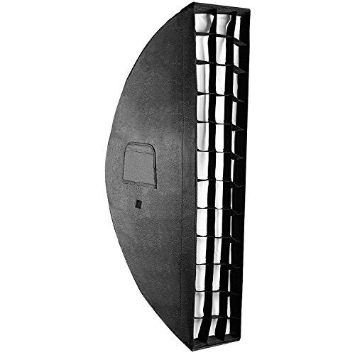 Neeewer 20x90 Zentimeter Wabengitter Softbox mit Bowens Mount Speedring für Speedlite Studio Flash Monolight, Portrait und Produktfotografie
