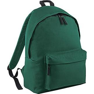 BagBase – Mochila casual verde verde oscuro