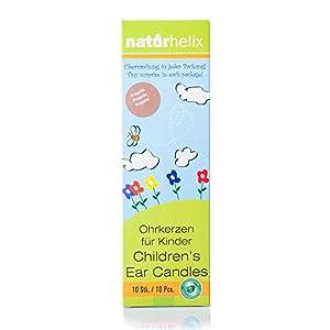 Naturhelix Kinder-Ohrkerzen mit Propolis-Tinktur – 10er-Packung