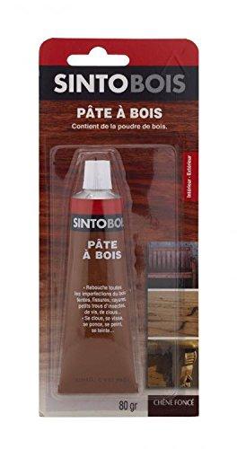 sinto-35405-pate-a-bois-80-g-chene-fonce