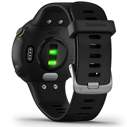 Garmin Forerunner 45 - GPS-Laufuhr im leichten Design, Trainingspläne, Fitness Tracker, Herzfrequenzmessung - 5