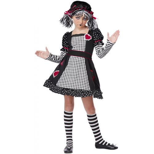Kostüm Rag Doll Kids - California Costumes Rag Doll Child Costume, X-Small by California Costumes