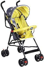Mee Mee Stylish Light Weight Baby Stroller (Yellow)