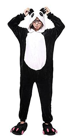 Auspicious beginning Pyjamas animaux unisexes Halloween combinaisons Panda vache pingouin