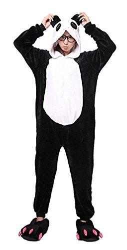 Auspicious beginning Unisex Tier-Pyjamas Halloween-Overalls Panda-Kuh-Pinguin-Dinosaurier (Walking Dead Kostüme Für Paare)