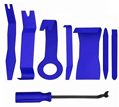 8 STÜCKE Auto Trim Removal Tool Set für Auto Audio Dash Türverkleidung Fenster Form Fastener Remover Tool Kit Auto Reparatur Werkzeuge,Black 8 Dash Kit