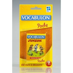Megableu - 678054 - Jeu de voyage - Pocket Vocabulon Junior