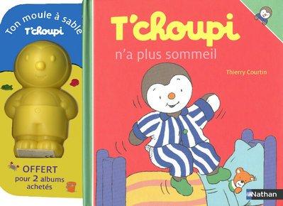 T'choupi, pack en 2 volumes : T'choupi n'a plus sommeil ; T'choupi part en vacances (1Jeu)