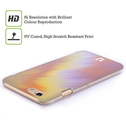 Head Case Designs Arcobaleno Tie Dye Cover Retro Rigida per Apple iPhone 7 / 8 Violetto
