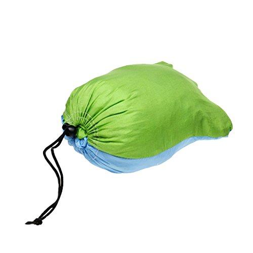 Doppel Person Outdoor Camping Hängematte, Maximale Belastbarkeit 300KG, aus Fallschirmseide - 7