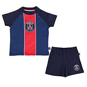 PARIS SAINT GERMAIN Ensemble bébé t-Shirt + Short PSG - Collection Officielle 7