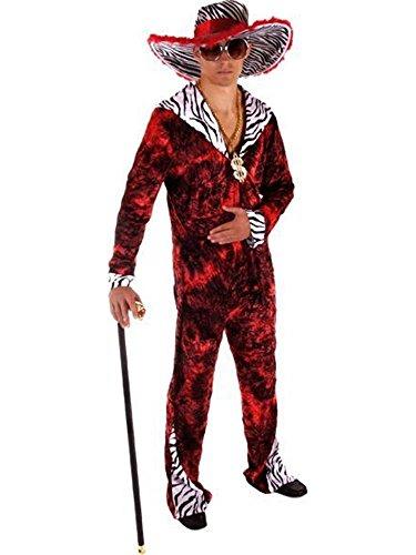 Big Daddy Red - Kostüm für Erwachsene (Cool Girl Superhelden Kostüme)