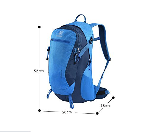 HWLXBB Outdoor Bergsteigen Tasche Männlich und Weiblich 28L Wasserdichte Mehrzweck-Bergsteigen Tasche Wandern Camping Bergsteigen Rucksack 5*