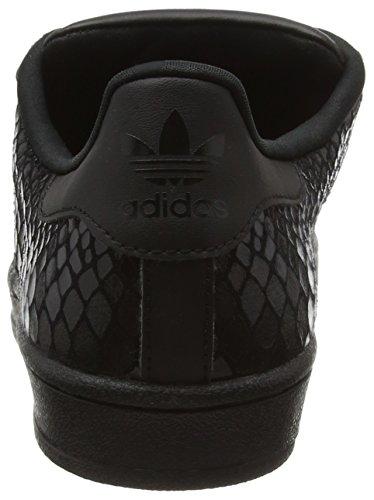 adidas Damen Superstar Sneakers Schwarz (Core Black/Core Black/Core Black)