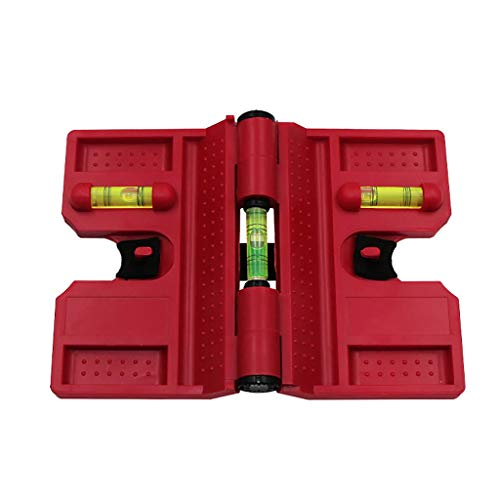 MA87 Rohrwinkelmesser Magnetische Wasserwaage Wasserwaage für die Installation von Holzsäulen (A)