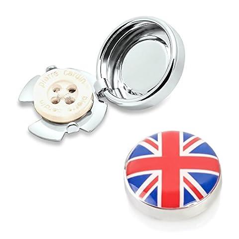 UK Flag Button Covers - Wear the Union Jack on any Shirt (CS-UK E)