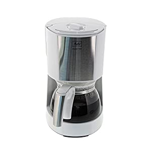 Melitta Enjoy Ii Glass Top Filter Coffee Machine, Black/Stainless Steel-parent