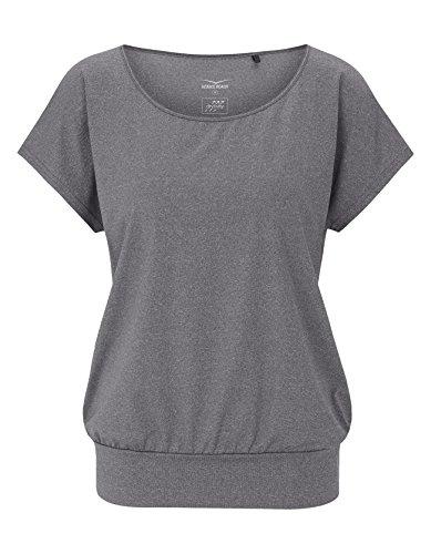 Venice Beach Damen Riamee Body Shirt T, Dark Grey, XL