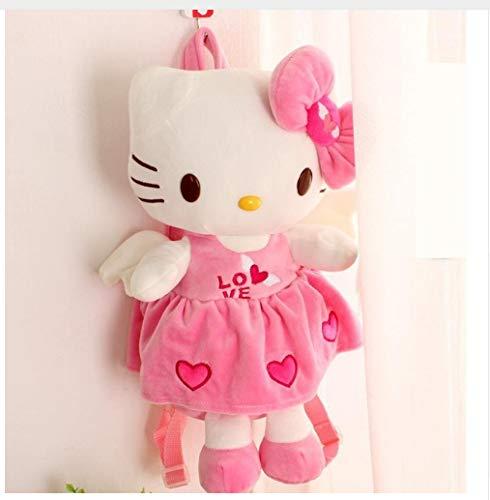 itty Rucksack Plüsch Rucksack Kinder Spielzeug Schultasche Kätzchen Cartoon Kindergarten Kinder Puppe Tier Rucksack Mädchen ()
