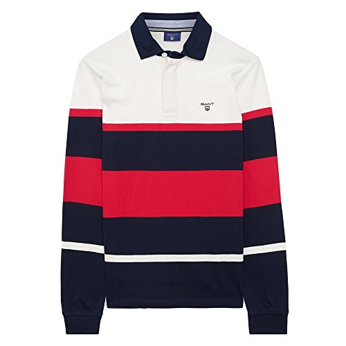 Gant -  Polo  - Maniche lunghe  - Uomo Clear Red Large