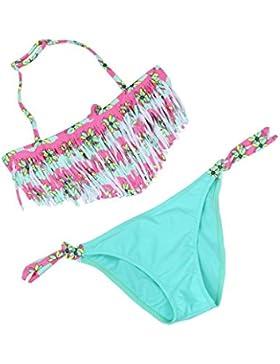 per 4-12 anni,Amlaiworld Costumi da bagno bambino nappa ragazzi carino bikini