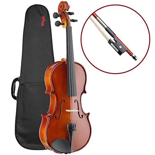 Stagg VN-4/4 Violino Completo di Misura 4/4, Tavola in Abete
