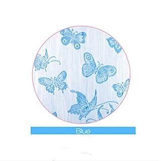 Bluelover 1M X 2 M Papillon Chaîne Rideau Gland Drapé Pour Mur Fenêtre Porte Fenêtre Décoration - Bleu
