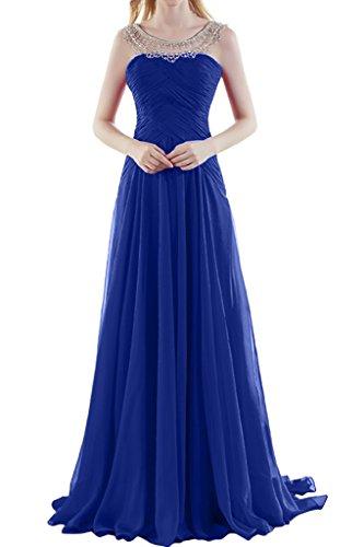 Missdressy - Robe - Plissée - Femme bleu roi