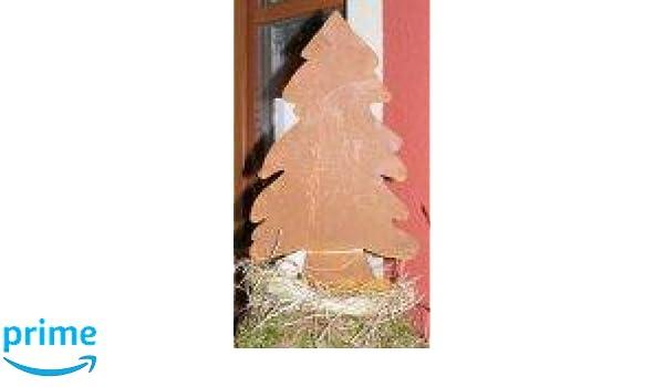 Rostiger Tannenbaum.Amazon De Rostikal Edelrost Tannenbaum Rostige Dekoidde