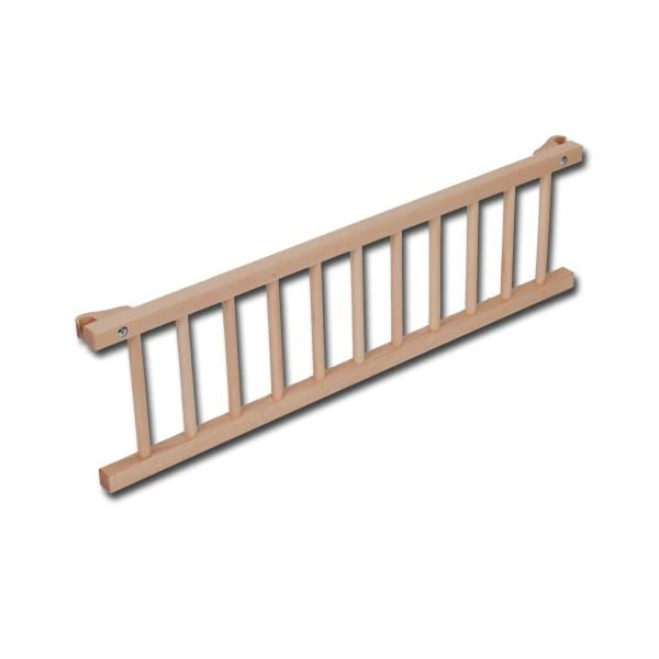 Babybay Guardrail for Maxi/Boxspring, Natural Varnished babybay Made of solid wood Comes with the locking clip Fit for maxi and boxspring co-sleeper cot 1