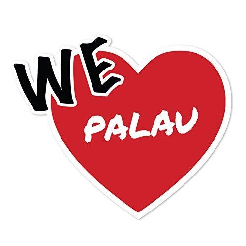 Preisvergleich Produktbild JOllify Aufkleber - PALAU – Farbe: Design: We love - Wir lieben