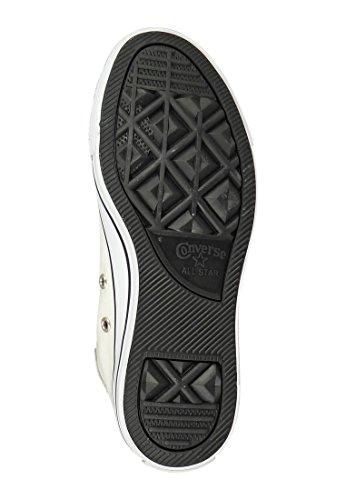 Converse Sneaker Chuck Taylor All Star Hi Ecru Schwarz Parchment Egret Black