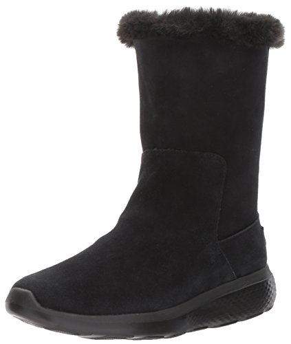 Skechers Damen On-The-Go City 2 Stiefel, Schwarz (Black), 40 EU (Winter Skechers Stiefel)