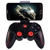 #9: NusGear T3 Wireless Bluetooth 3.0 Gamepad Gaming Controller for Android System (Black)