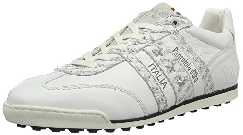 Pantofola d'Oro Imola Soccer Uomo Low, chaussons d'intérieur homme Blanc (Bright White)