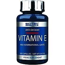 Scitec Nutrition Essentials Suplemento Alimenticio con Vitamina E, 100 Cápsulas, ...
