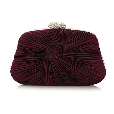 Frauen spezielle Material Event/Party/Hochzeit Abend Tasche Ruby