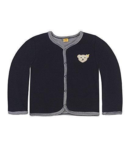 Steiff Unisex Baby 6617 Sweatshirt, Blau Marine 3032, (Herstellergröße: 68)