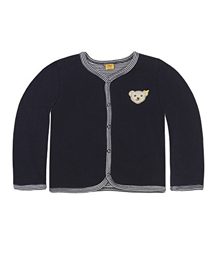 Steiff Unisex Baby 6617 Sweatshirt, Blau Marine 3032, 80