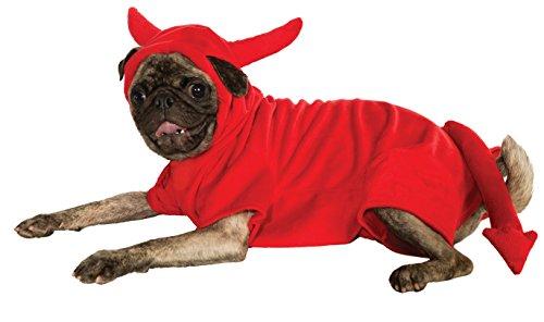 Zauberer Oz Halloween Kostüme Von Der Für Haustiere (Rubies Costume Devil Dawg Hoodie Pet Kostüm,)
