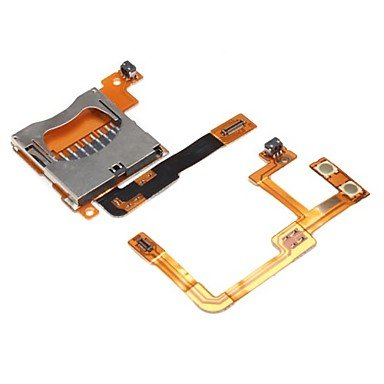 LEBULI Replacement Bus Wire and SD Card Reader Slot for Nintendo DSi XL and DSi LL LIU8 Bus Wire