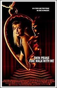 Twin Peaks :  Fire Motif promenade avec médaillon Art Poster PRINT inconnu 11 x 17