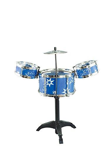 Big Band Kinder Kids rot blau Drum Percussion Musikalischen Sound Spielset Spielzeug