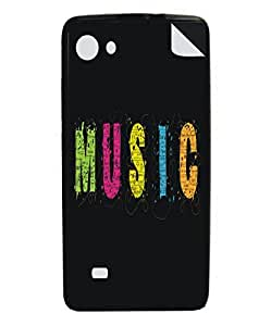 Techno Gadgets Back Cover sticker for XOLO Q900s