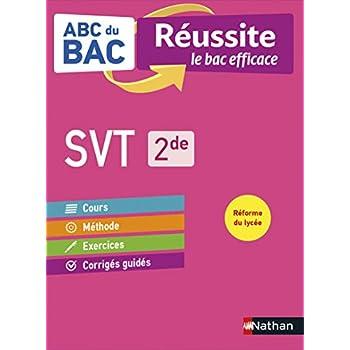 ABC du BAC Réussite SVT 2de - Le Bac efficace - Nouveau Bac