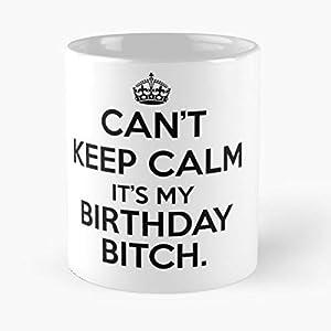 Keep Calm And Carry On Birthday - Best 11 oz Coffee Mug Gift